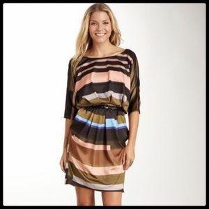 ✨NEW LISTING✨ Vince Camuto Stripe Belt Dress